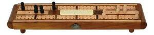 Curling Stone Wooden Cribbage Board With FREE ENGRAVING 95