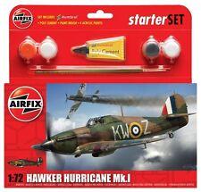 Airfix A55111 Hawker Hurricane MkI Starter Set 1:72 Scale