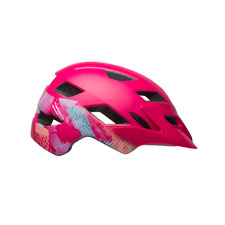 Bell Sidetrack Child Unisex 47-54cm Gnarly Matte Berry Bike Cycle Safety Helmet