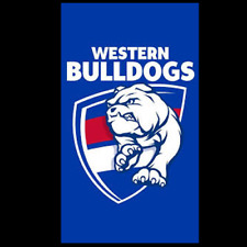 Western Bulldogs Official AFL Supporter Flag 900mm X 1500mm