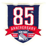 2010 2011 New York Rangers 85th Anniversary Jersey Emblem Season Logo NHL Patch