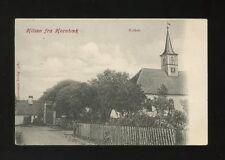 Denmark Hilsen fra HORNBOEK Kirken Church c1902 u/b PPC