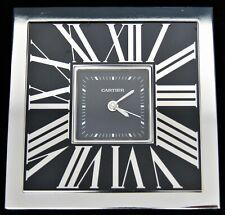 Cartier 2747 Roman Numeral Desk Alarm Clock Limited Edition w/Box #449/888
