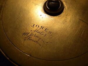 """JONES LONDON 4"""" SALMON FLY REEL 1870s"""