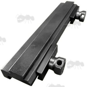 One Piece Weaver / Pictanny to Dovetail Rail Adapter