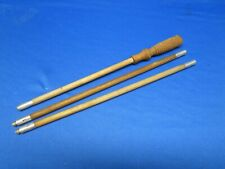"""Antique Shotgun Wooden Cleaning Rod, 3 piece, Tight, 39""""s Long"""