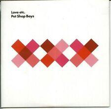 PET SHOP BOYS 'LOVE ETC +  BONUS' UK CD 1 SEALED