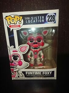 Funko Pop! Five Nights At Freddy's Sister Location Funtime Foxy 228 Vinyl Toy