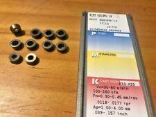 ISCAR Carbide Inserts - RCMT 0803M0-14 IC20 K10-K20 - Qty. 10 - NEW