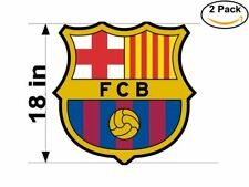 Fc Barcelona 2 Stickers 18 inches Sticker Decal