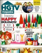 HGTV Magazine, December 2017,Home Decorating,Holiday Ideas,Makeovers,fun,festive