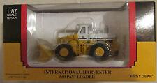 First Gear International Harvester 560 Wheel Pay Loader 1/87  NIB  FG # 80-0311