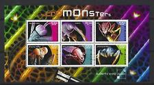 AUSTRALIA 2009 MICROMONSTERS MINIATURE SHEET FINE USED