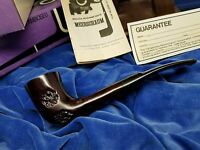 NEVER SMOKED Antique Kiko Meerschaum Lined Amboseli Tanzania Kiko PL #42 Pipe