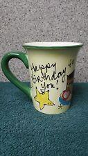 Happy Birthday Mug by Julia Junkin for Certified International made in China