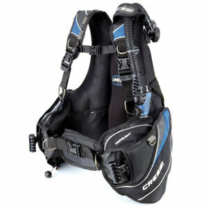 Cressi Men's Travelight Jacket Style Weight Integrated BCD Blue,X-Small Open box