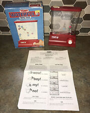 Vintage TOMY Waterfuls Red Ring Toss Water Filled Game Toy w/Original Box EXC