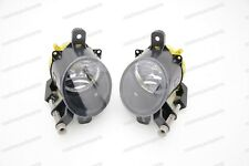 1Pair Clear Lens Replacement Fog Lights for Cadillac SRX 2010-2015