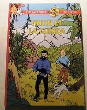 PASTICHE. Tintin et la Guinda.Album cartonné 48 pages en COULEURS. 2018.