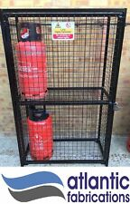 Gas Bottle Cylinder Security Cage Propane 19kg cylinders - 1800h x 1100w x 500d