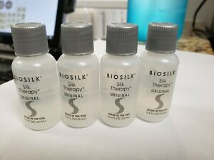 BIOSILK Silk Therapy Original 0.5 fl.oz / 15ml X 4 FREE SHIPPING