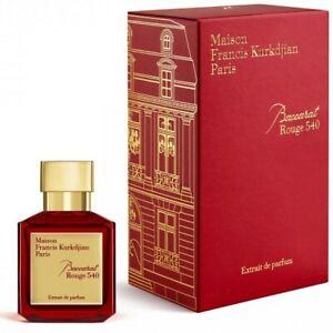 Maison Francis Kurkdjian Baccarat Rouge 540 2.4 oz Extrait de Parfum New in Box