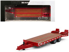 BEAVERTAIL TRAILER RED 1/50 DIECAST MODEL BY FIRST GEAR 50-3350