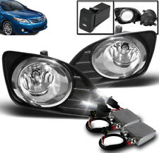 2010-2011 TOYOTA CAMRY BASE LE XLE CLEAR FRONT LOWER BUMPER FOG LIGHT+50W 6K HID