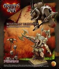 Warhammer Avatars of War Beastman Warchief Nuevo metal New