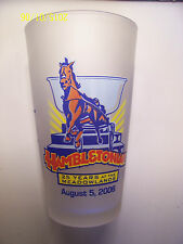 HAMBLETONIAN  25 YEARS AT THE MEADOWLANDS 2006 FROSTED GLASS  -   NICE