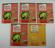 Math in Focus Lot of 5 Grade 2 and 2A Student Workbooks Paperback