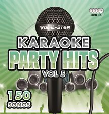 VOCAL-STAR PARTY HITS 5 KARAOKE CDG CD+G DISC SET 150 SONGS