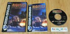 SEGA Saturn Robotica Cybernation Revolt PAL