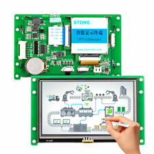 43 Hmi Tft Lcd Module Display With Controller Program Touch Uart Interface