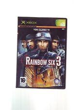 Tom Clancy's Rainbow Six 3-XBOX JUEGO/360 compatible-Original y completo en muy buena condición