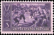 Baseball Centennial Stamp #855 Mint Never Hinged 1939 United States