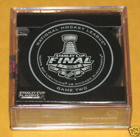 TAMPA BAY LIGHTNING CHICAGO BLACKHAWKS 2015 Stanley Cup Official Game 2 PUCK