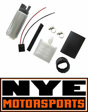 Walbro 255LPH HP Fuel Pump w/ Install Kit 92-00 Civic 94-01 Integra 00-07 S2000