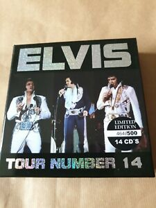 ELVIS TOUR 14 LIMITED EDITION 14 CD BOX SET NUMBERED BRAND NEW MINT