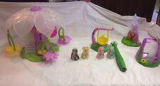 Lite Sprites Tree House Set, Wand, 4 Figures , 4 Accessories & Disney Fairy