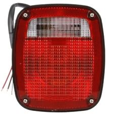 TRUCK-LITE 4027D - Signal-Stat, Incandescent, Red/Clear Acrylic Lens, Universal,