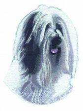 Embroidered Long-Sleeved T-Shirt - Tibetan Terrier Bt3070 Sizes S - Xxl