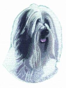 Embroidered Sweatshirt - Tibetan Terrier BT3070  Sizes S - XXL