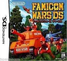 Used DS Famicom Wars  NINTENDO JAPANESE IMPORT