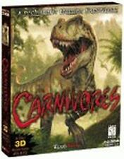 Carnivores - PC - Jurassic Dinosaur Hunting Game - New Sealed Box!