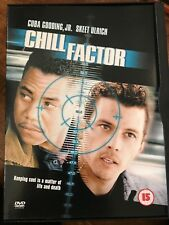 Cuba Gooding Jr SKEET ULRICH CHILL FACTOR ~ 1999 Acción CHASE SUSPENSE GB DVD