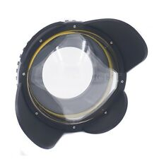 200mm Dive Fisheye Wide Angle Wet Lens Dome Port For M67 caliber Underwater Case