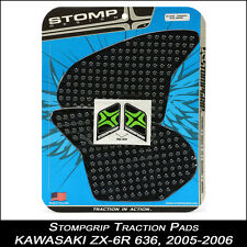 STOMPGRIP Pads de tracción,KAWASAKI zx-6r 636,2005 -2006 ,negro,Protector