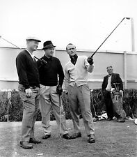 JACK NICKLAUS SAM SNEAD ARNOLD PALMER 8X10 GLOSSY PHOTO PICTURE