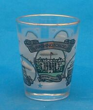 Washington DC Souvenir Shot Glass Barware Bar Shooter White House Capitol
